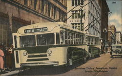 Trackless Trolley, Downtown District