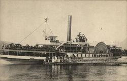 "Sidewheeler "" Horicon"", Lake George, NY"