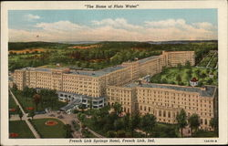 Home of Pluto Water, French Lick Springs Hotel Postcard