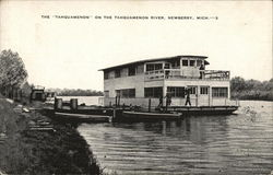 "The ""Tahquamenon"" on the Tahquamenon River"