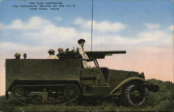 Tank Destroyer, Camp Hood Texas