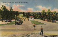 Camp Gordon - Main Entrance