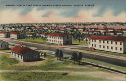 Camp Gordon showing Parade Grounds
