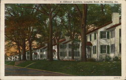 Officers' Quarters, Lumpkin Road