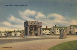 Main Gate, Camp Chaffee, Arkansas