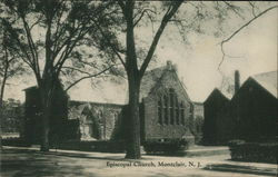 Black and White Picture of Episcopal Church