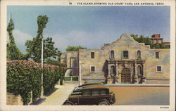 The Alamo, Showing Old Court Yard