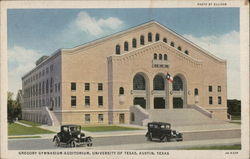 University of Texas - Gregory Gymnasium Auditorium