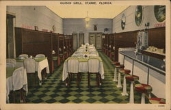 Guidon Grill Postcard