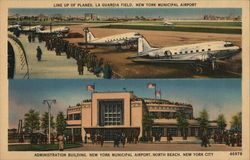 La Guardia Field and Administration Building, New York Municipal Airport