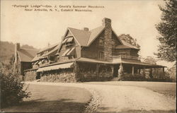 Furlough Lodge - Geo.J. Gould's Summer Residence Postcard