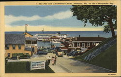 Pier and Amusement Center On Chesapeake Bay