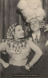 Carmen Miranda and Tom Breneman