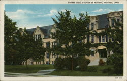 Holden Hall at the College of Wooster