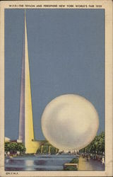 The Trylon and Perisphere - New York World's Fair 1939