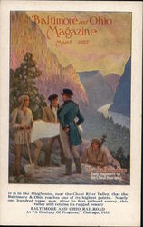 Balimore and Ohio Railroad Magazine March 1927