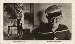 Joseph Grendol and Robert Everhart Postcard