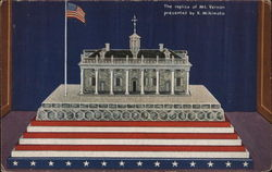 Replica of Mount Vernon, Home of Geo. Washington - A Century of Progress Postcard