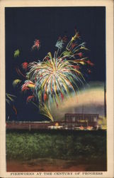 Fireworks At the Century of Progress