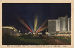 The Marvelous Scintillator Beams, Two Billion Candle Power