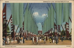 Avenue of Flags, Chicago World's Fair