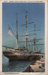 "Admiral Byrd's Polar Ship, ""The City of New York"""