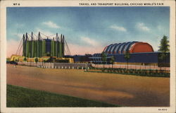 Travel and Transport Building - Chicago World's Fair