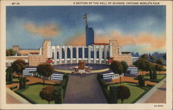 A Section of the Hall of Science - Chicago World's Fair