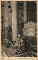 Laughing Buddha in Chinese Temple