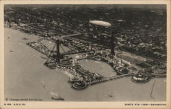 Bird's Eye View of Exposition - A Century of Progress