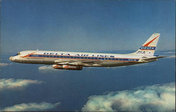 Delta Air Lines DC-8 Aircraft