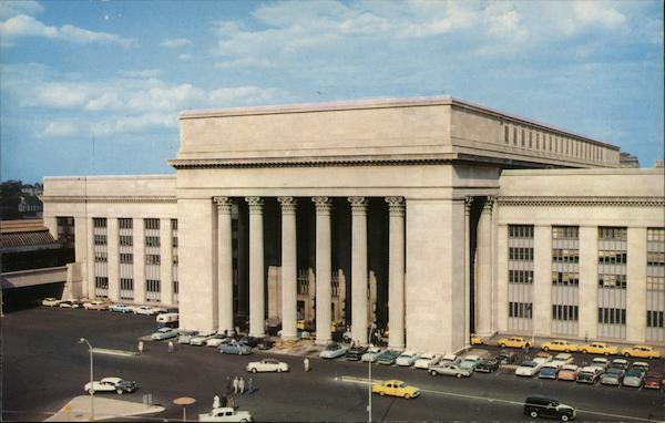 30th Street Station, Pennsylvania Railroad Philadelphia