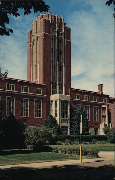 Mary Reed Library, University of Denver Colorado