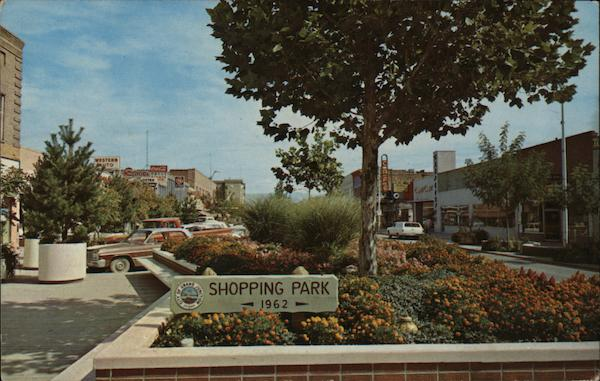 Shopping Park, 1962 Grand Junction Colorado