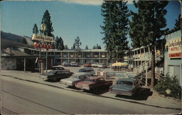 Lucky Lodge Motel South Lake Tahoe California