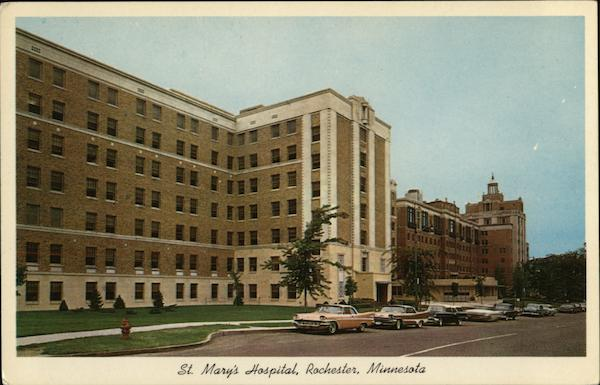 St. Mary's Hospital Rochester Minnesota