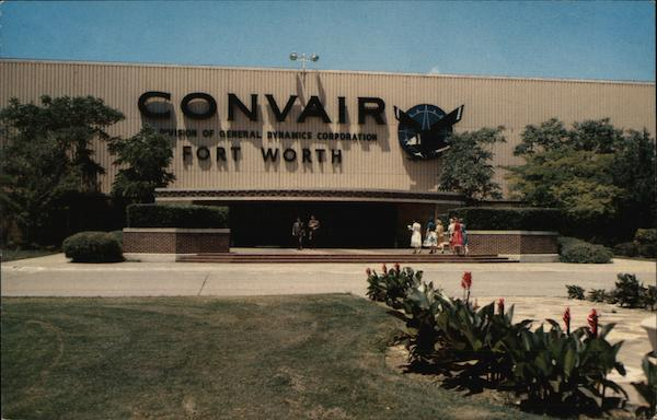 Convair Consolidated Aircraft Plant Fort Worth Texas