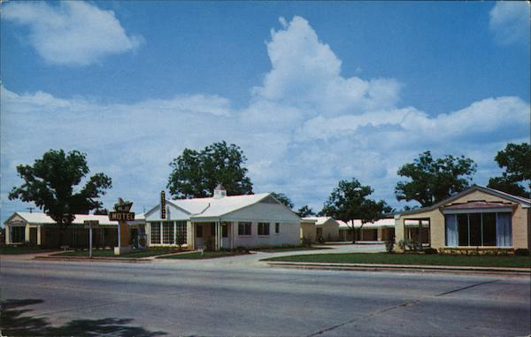 Aljo Motel Albany GA Postcard