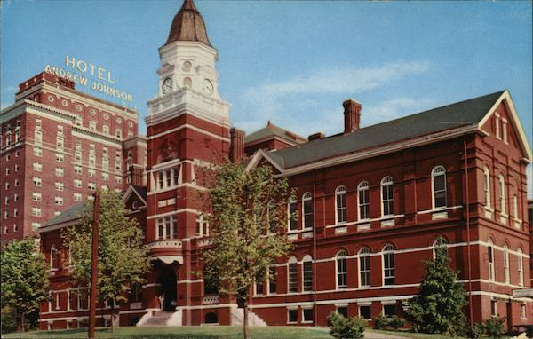 Knox County Court House and Hotel Andrew Jones Knoxville Tennessee
