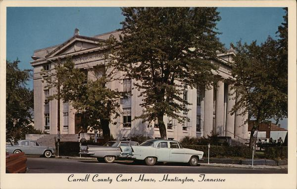 Carroll County Court House Huntingdon Tennessee