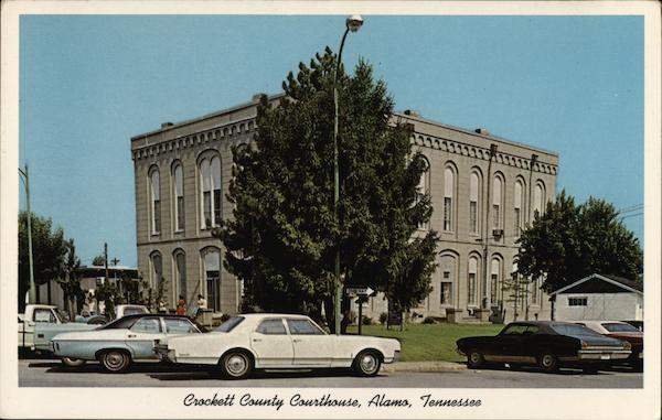 Crockett County Courthouse Alamo Tennessee