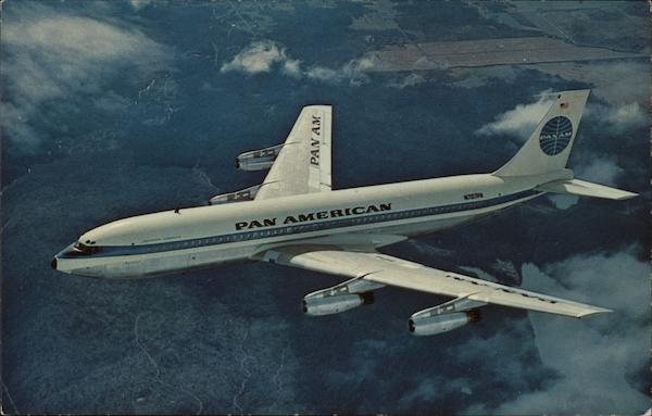 Pan American Jet Clipper Aircraft