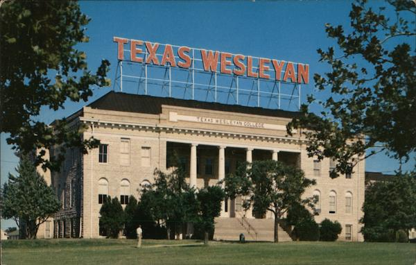 Administration Building, Texas Wesleyan College Fort Worth