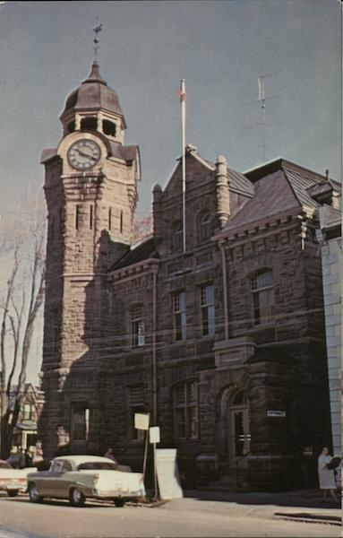 Post Office and Town Clock Napanee Canada Ontario