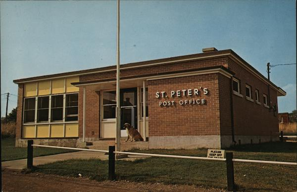 Post Office St. Peter's Canada Nova Scotia