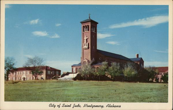 City of St. Jude - Church & Rectory Montgomery Alabama