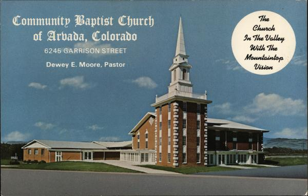 Community Baptist Church Arvada Colorado