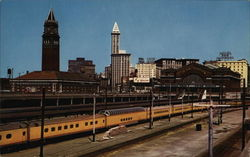 Seattle Railroad Depots