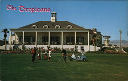 The Tropicana Hotel Postcard