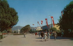 A view of International Fair Grounds from Lozan Gate